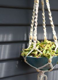 How To Make A Macrame Hanging Planter