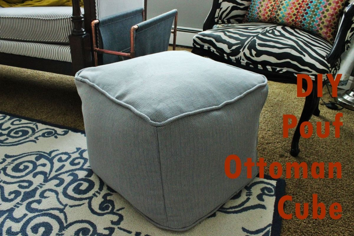 Pouf Chair Diy Pouf Ottoman Cube