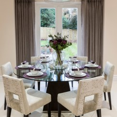 Breakfast Table And Chairs Set Red Desk Chair Staples 40 Glass Dining Room Tables To Revamp With: From Rectangle Square!
