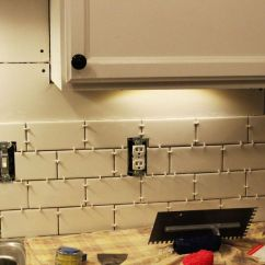 Installing Kitchen Backsplash Red Cabinets Ideas Budget Friendly Makeovers And Instructions