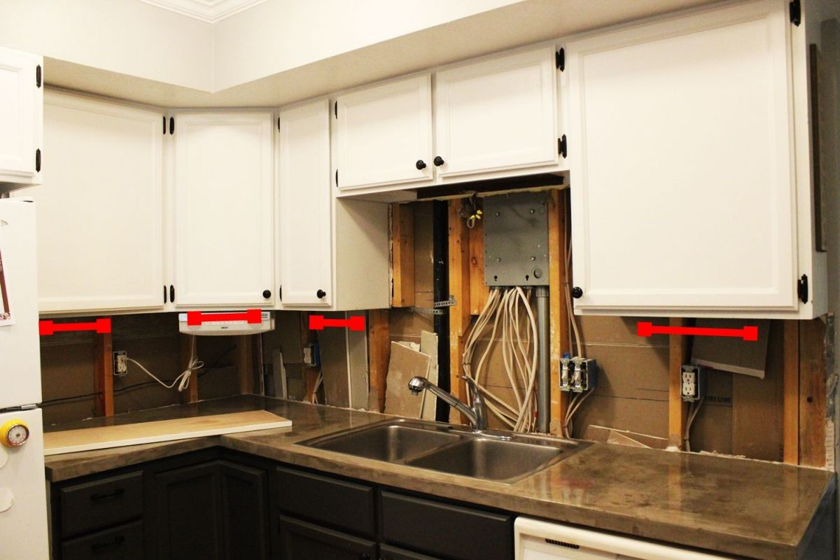 under kitchen cabinet lights island with folding leaf budget friendly makeovers ideas and instructions