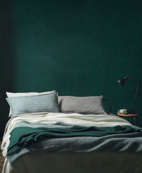 emerald green bedroom paint colors 6 Best Paint Colors to Get You Those Moody Vibes