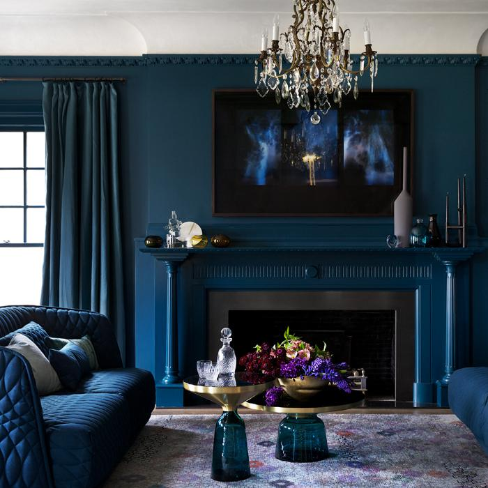 decorating ideas living room blue designs for apartments decor homes with personality rob mills sophisticated