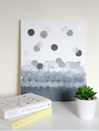 Simple Canvas Abstract Wall Art