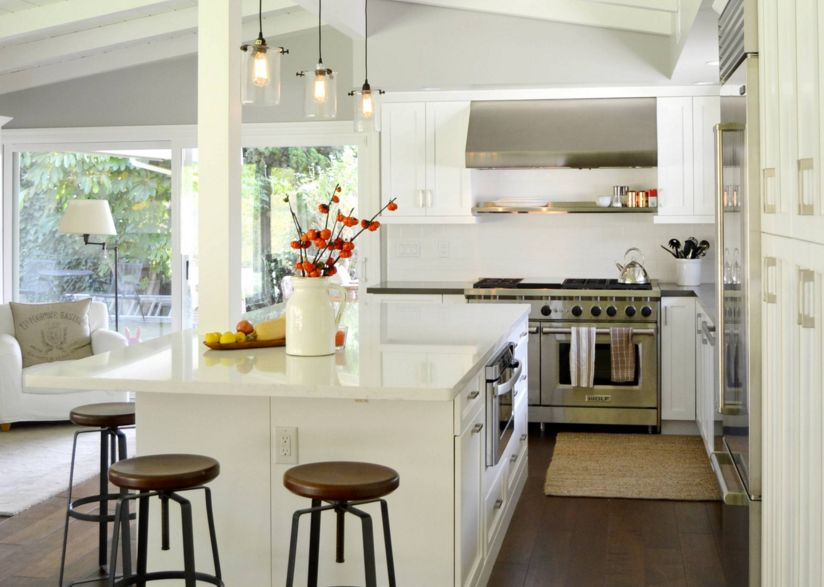 white kitchen countertops commercial hood installation 20 quartz inspire your renovation cool traditional with industrial chairs and countertop
