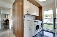 20 Ultra-Modern Laundry Rooms That Fit Into The Most ...