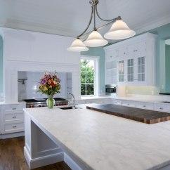 White Kitchen Countertops Pot Hangers 20 Quartz Inspire Your Renovation Open Space With