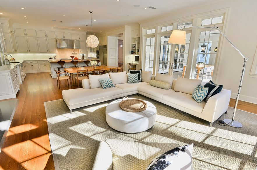 living room open plan designs painting white floor plans the strategy and style behind concept spaces space
