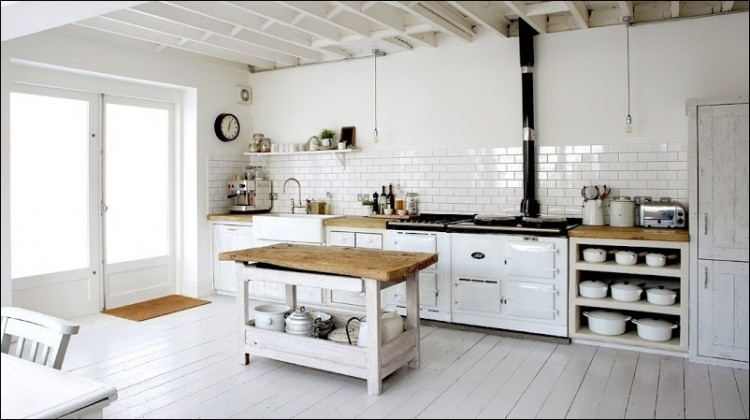 subway tiles in kitchen bosch universal plus machine dress your style with some white rustic