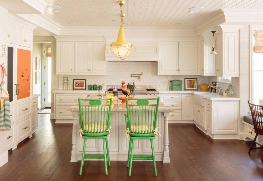 white kitchen countertops copper door handles 20 quartz inspire your renovation traditional wiht yellow knobs and countertop