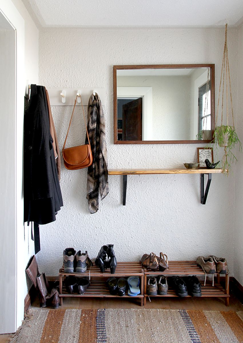 DIY Coat Rack  Tutorial and Inspiration