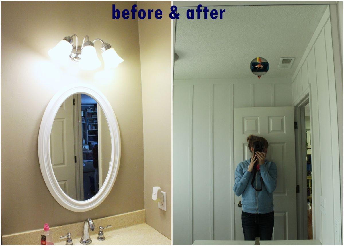 Above Mirror Lighting Bathrooms