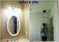 How To Mount Mirror On Wall Choice Image - home design ...