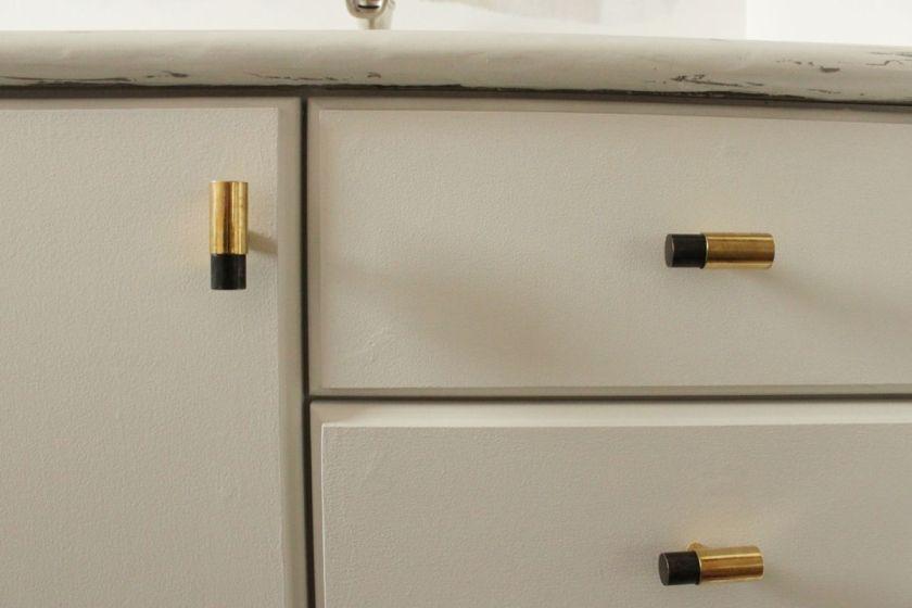 DIY Upgrade Bathroom Vanity -closer