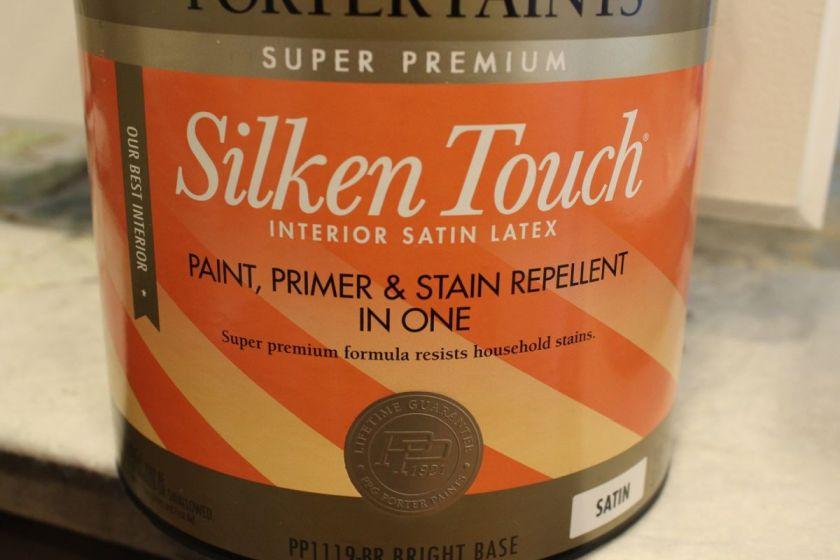 DIY Upgrade Bathroom Vanity stain paint
