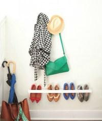 diy shoe holder - 28 images - organizer shoe hanger ...