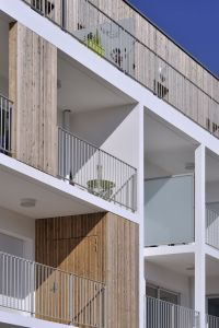Stylish Balconies Become Integral Parts Of Their Building ...