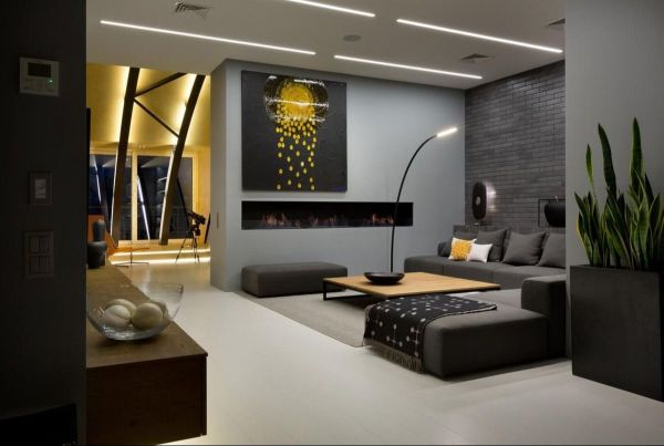 Loft Apartments with Fireplaces