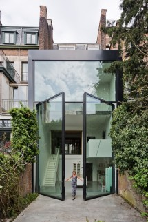 Images of Large Homes with Glass Doors