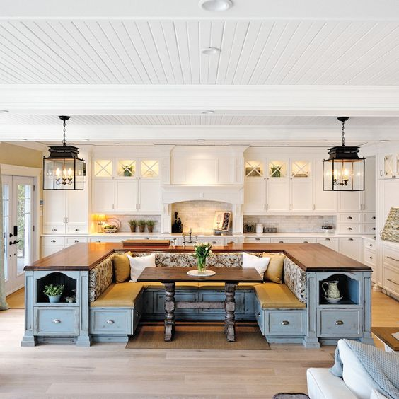 kitchen island large outdoor kitchens lowes these 20 stylish designs will have you swooning with bench
