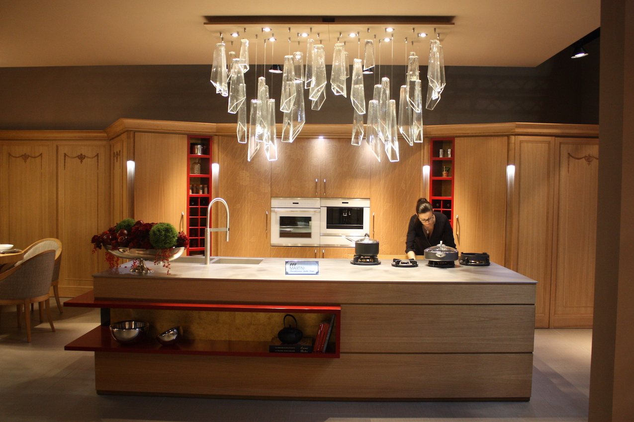 sleek kitchens wood designs and technology highlights of