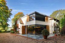 Historical English Cottage With Cantilevered Glazed