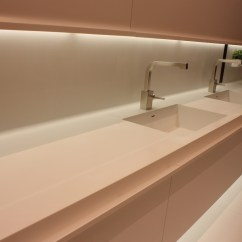 Kitchen Sink Styles Cost Of Cabinets New Showcased At Eurocucina
