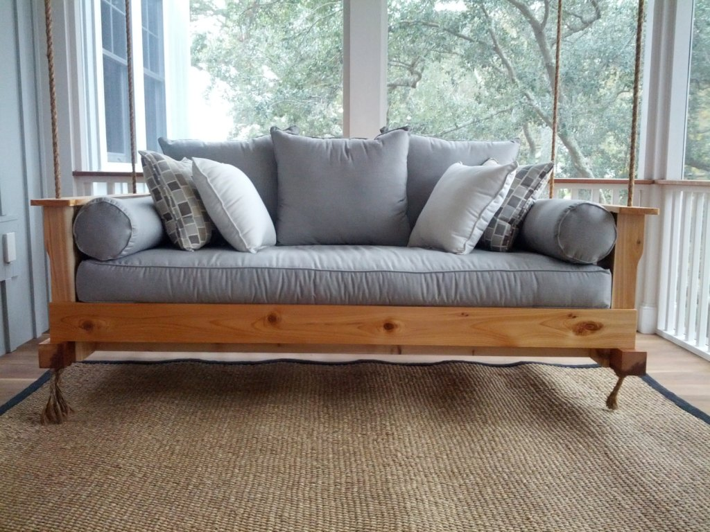 diy daybed sofas rattan sofa and chair covers outdoor porch beds that will make nature naps worth it