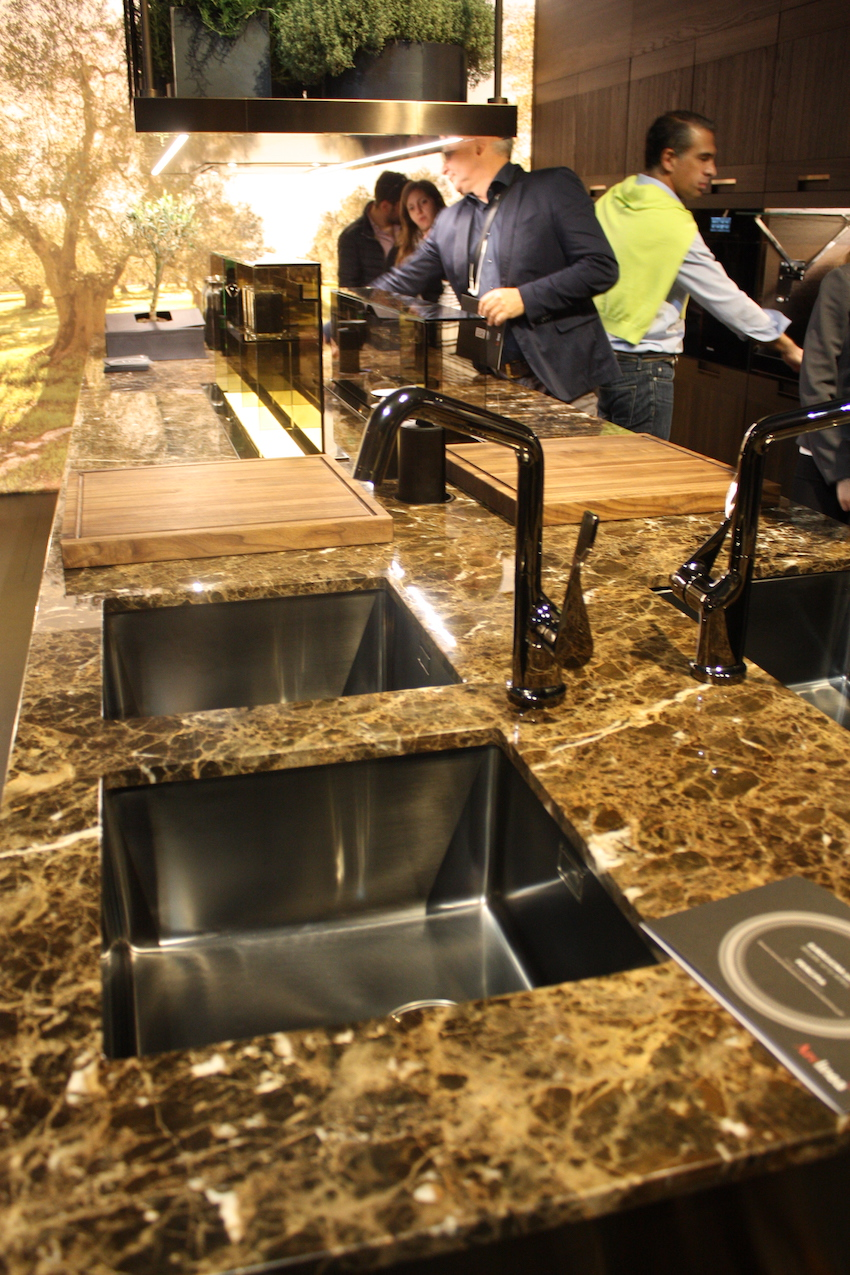 new kitchen sink create a styles showcased at eurocucina