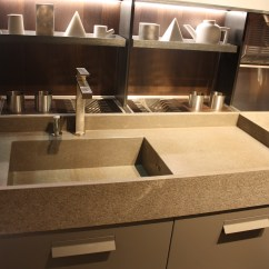 Kitchen Sink Styles How To Paint Cabinets Grey New Showcased At Eurocucina