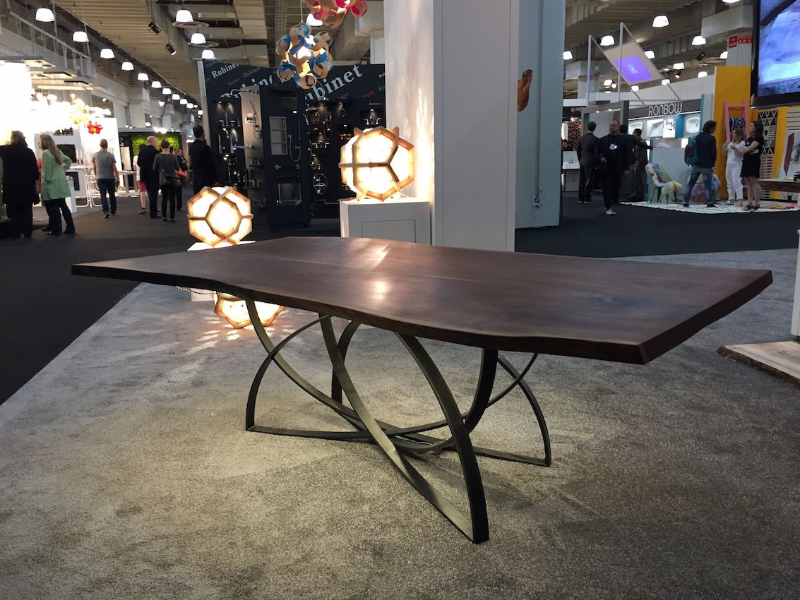 Cherrywood ICFF table