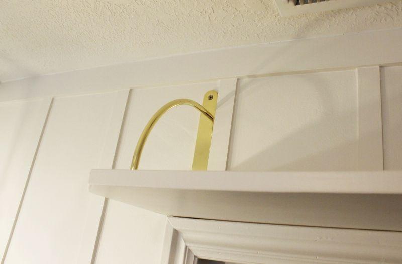 DIY Above Door Shelf