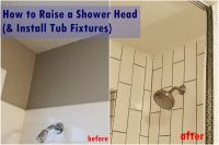 How to Raise and Install Tub