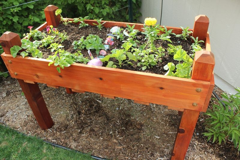 Diy Raised Garden Planter