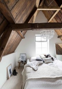 Scandinavian Rustic Bedroom Ideas