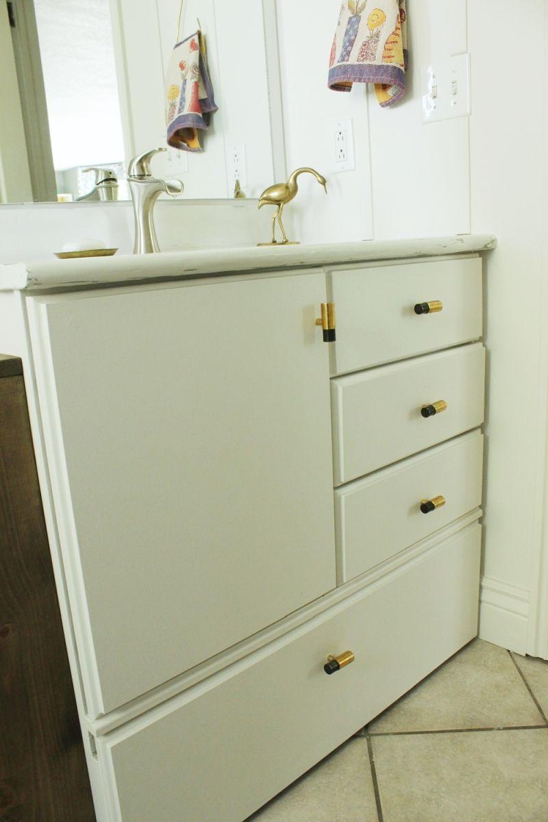 Gold drawer pulls