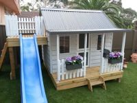 15 Pimped Out Playhouses Your Kids Need In The Backyard