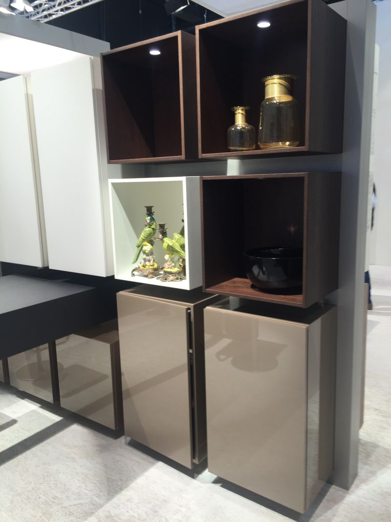 Laquared cupboards for kitchen