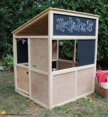 DIY Indoor Playhouse