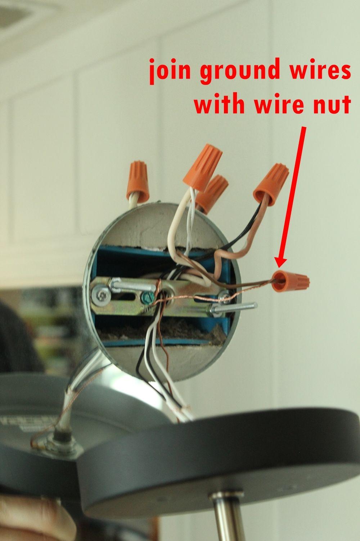 medium resolution of twist and then cap both ground wires