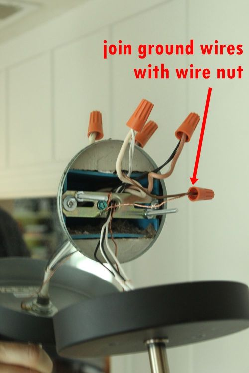 small resolution of twist and then cap both ground wires