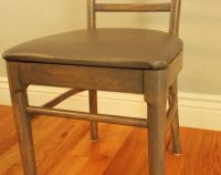 Refinish Old Wooden Chairs. grandpa s high chair how to ...