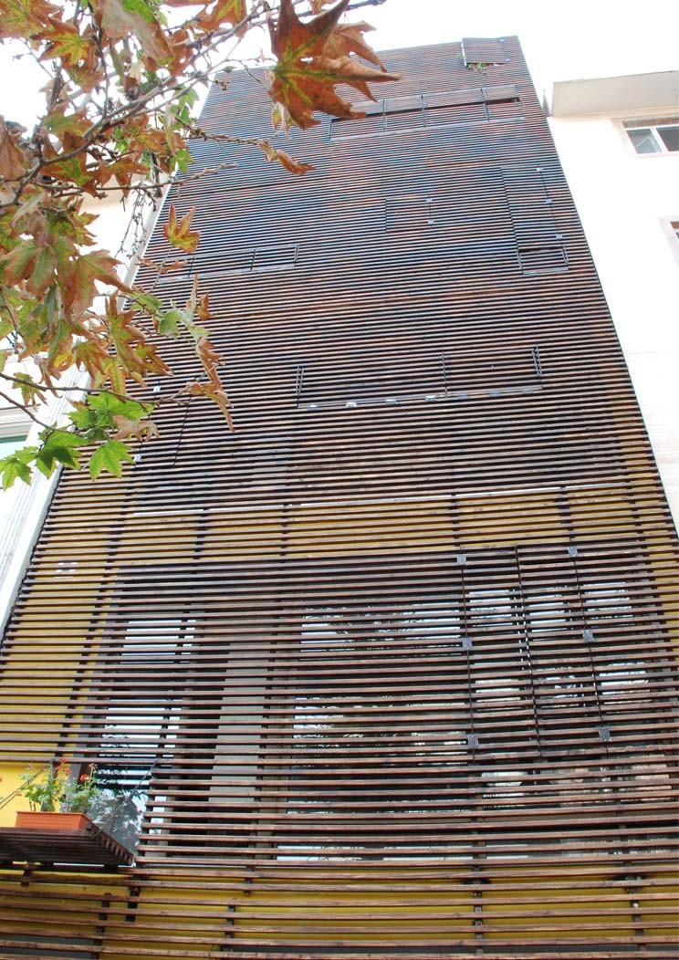 Checker Box Office Complex closed Facade
