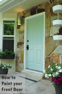Door Paint & Tips For How To Paint The Front Door