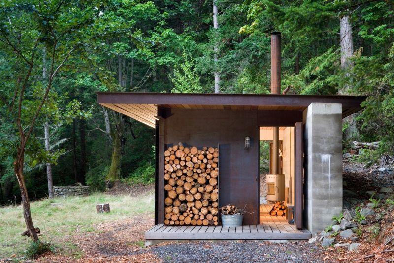 Gulf island cabin style