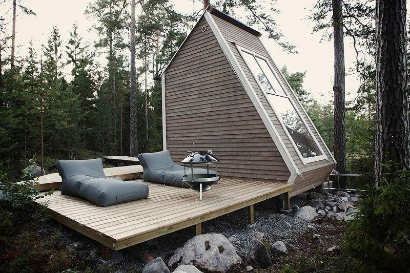 Micro cabin in Finland by robin falck