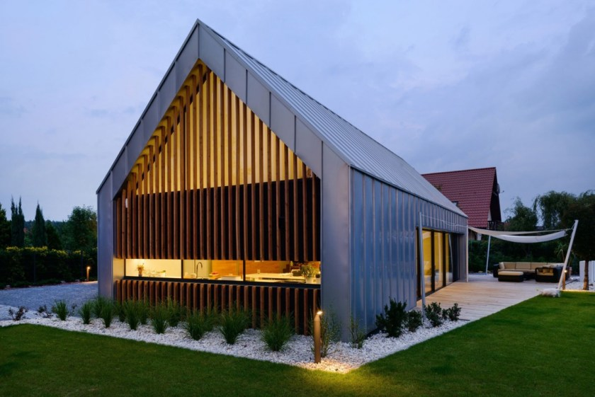 Private residence in Poland Backyard
