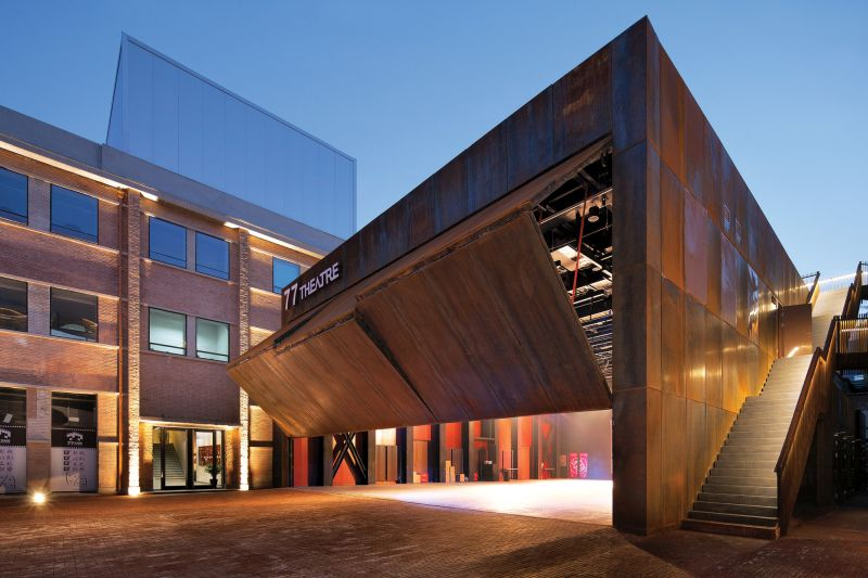 Refurbishment of the Offset Printing Factory facade dynamic