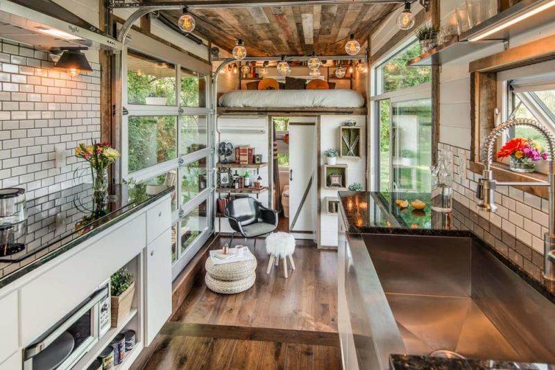 types of kitchen exhaust fans micro units comfort and luxury in a tiny house format