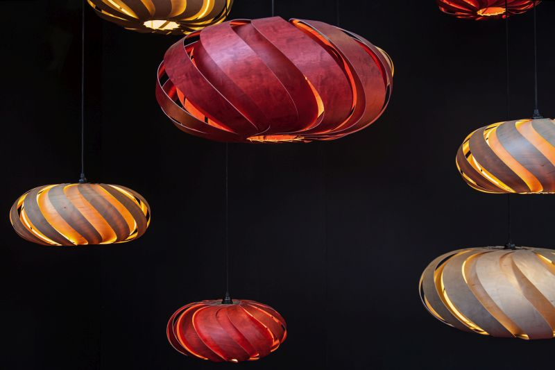 Bloom and Eclipse modern pendant lighting